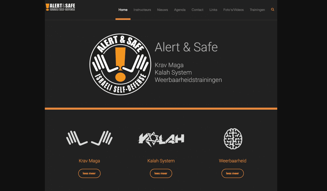 Alert & Safe website
