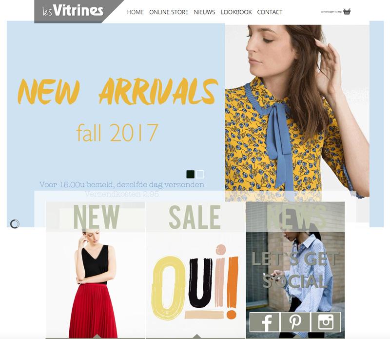 website-les-vitrines