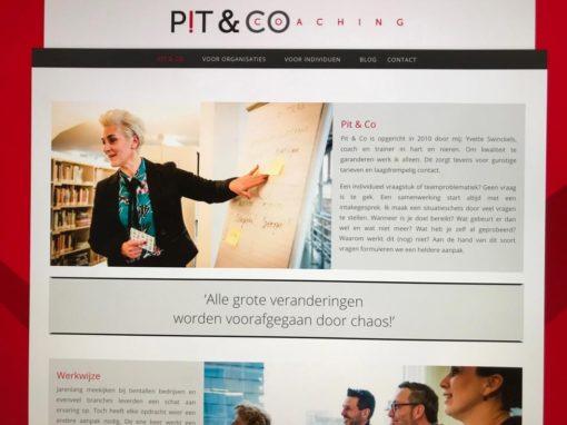 Website en Logo update Pit & Co