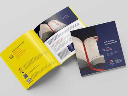 Brochure Verdrag van Maastricht – Studio Europa